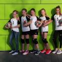 Premiere: U13 Volleyballerinen im ersten Ligaspiel erfolgreich