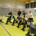 Dartsspieler meets Indoor Cycling