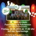 GWA Familientag mit Fotoshooting der Fußballmannschaften